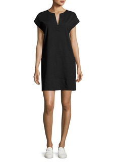 Theory Saturnina Crunch Wash Shift Dress