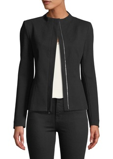 Theory Sculpted Knit Twill 2 Jacket