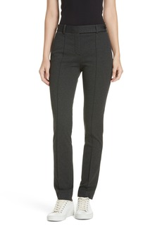 Theory Seamed Front Stretch Twill Pants