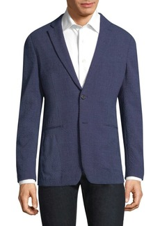 Theory Seersucker Wool Sportcoat