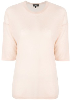 Theory sheer knitted top - Nude & Neutrals