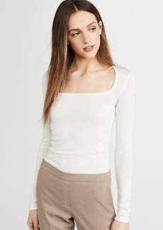 Theory Shirred Blouse