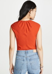 Theory Shirred Top