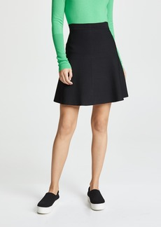 Theory Short Flare Skirt