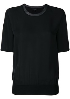 Theory short sleeve blouse - Black