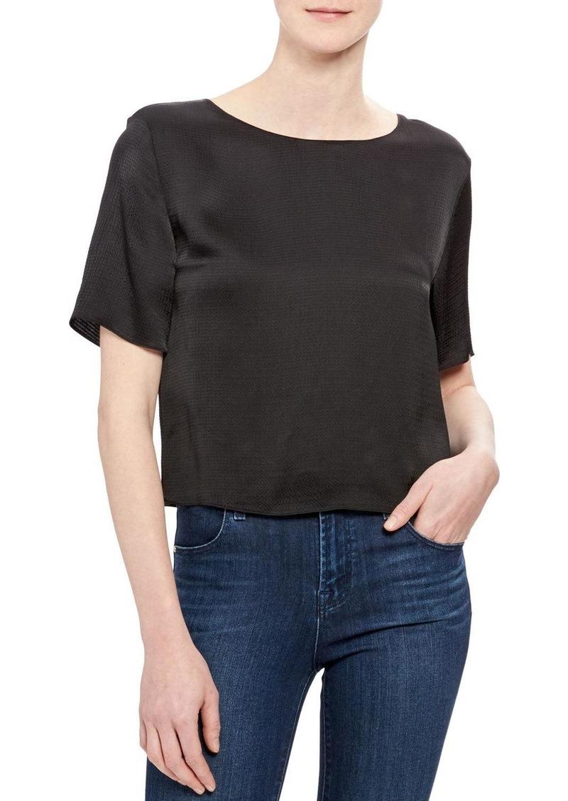 Theory Short-Sleeve Easy Woven T-Shirt