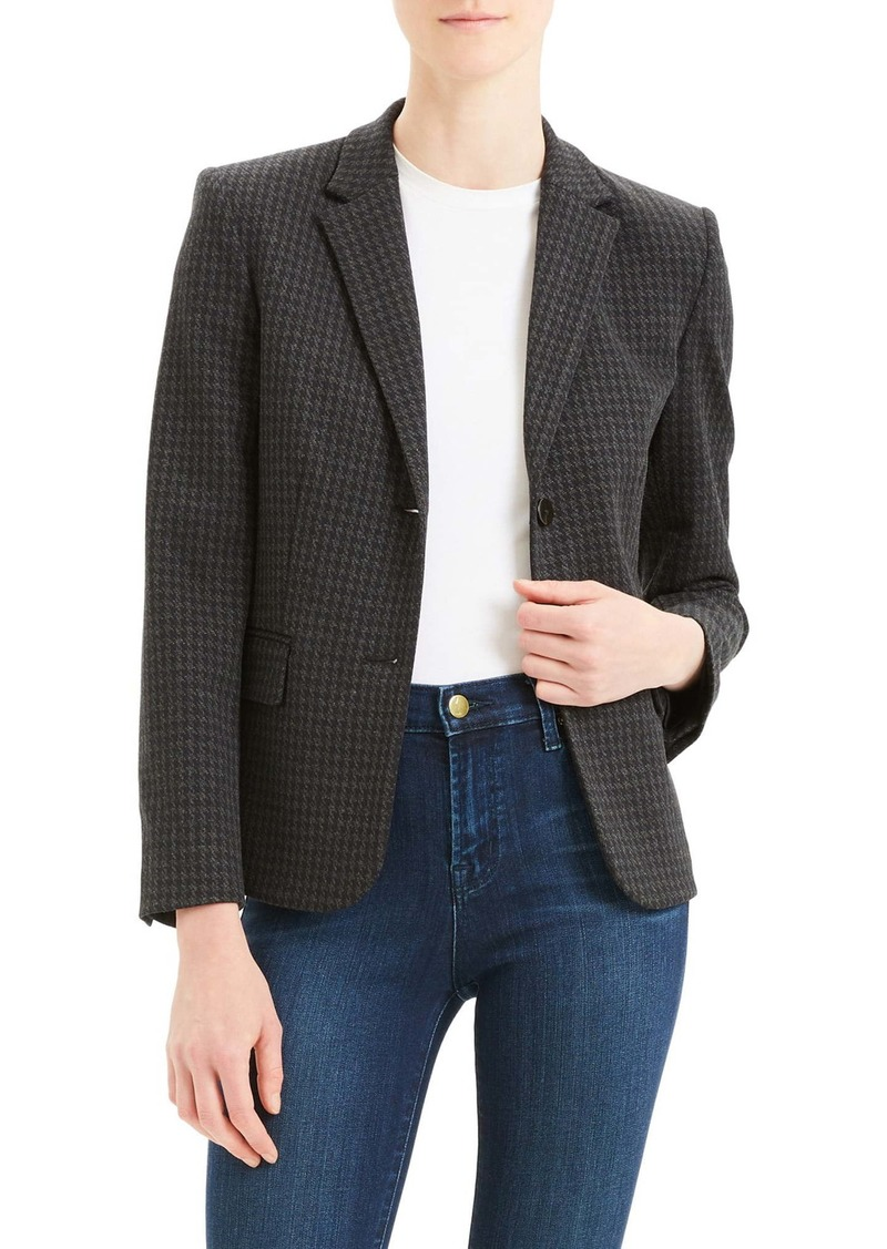 Theory Shrunken Houndstooth Jacket