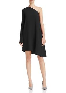 Theory Sintsi One-Shoulder Dress