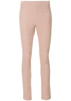 Theory skinny fit trousers - Pink & Purple
