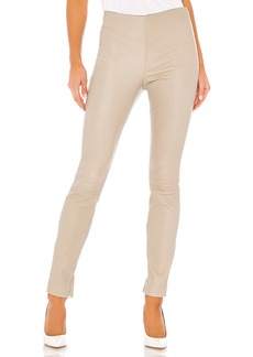 Theory Skinny Leather Legging