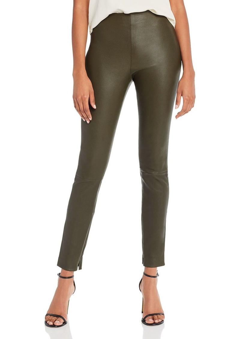 Theory Skinny Leather Leggings