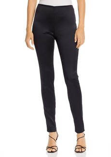 Theory Skinny Zip-Hem Leggings