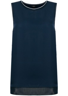 Theory sleeveless blouse - Blue