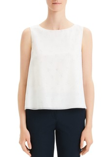Theory Sleeveless Print Top