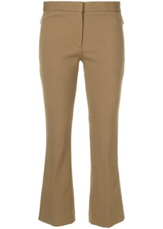 Theory slim cropped culottes - Brown