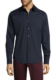 Theory Slim-Fit Poplin Shirt