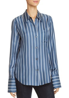 Theory Slim Silk Shirt