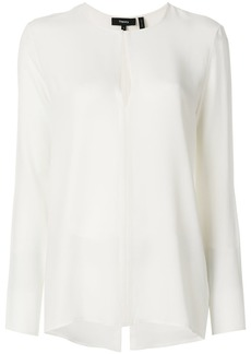 Theory slit front tunic - Nude & Neutrals