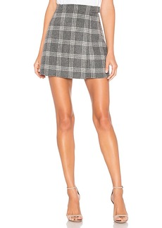 Theory Snap Mini Skirt