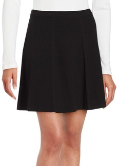 Theory Solid Pleated Skirt