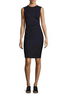 Theory Solid Ruched Dress
