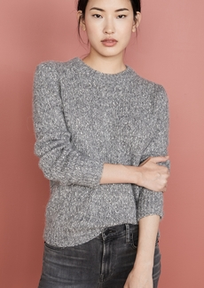 Theory Speckled Crew Pullover