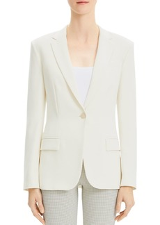 68f1d7ede47d Theory Theory Braneve Continuous Wool-Blend Jacket | Outerwear