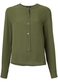 Theory straight fit blouse - Green