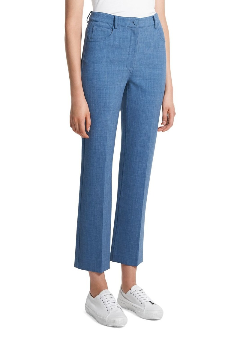Theory Straight Leg Jeans in Chambray
