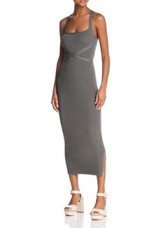 Theory Strap-Detail Knit Dress