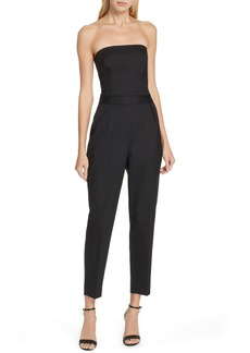 Theory Strapless City Jumpsuit