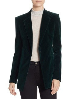 Theory Stretch Velvet Jacket