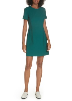 Theory Stretch Wool A-Line Dress
