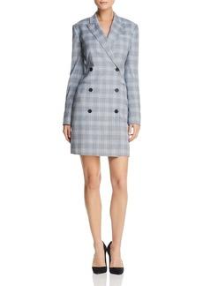 Theory Stretch-Wool Blazer Dress