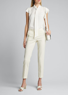 Theory Stretch Wool Tailored Trousers