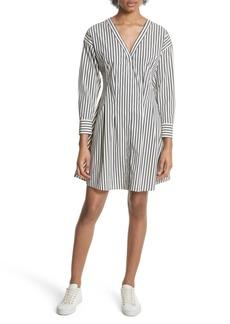Theory Stripe Shirtdress