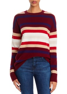 Theory Striped Cashmere Sweater - 100% Exclusive