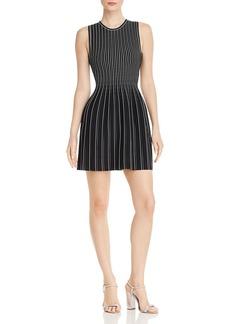 Theory Striped Knit Dress