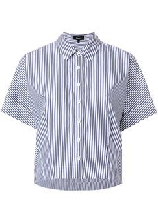 Theory striped short sleeve shirt - Blue