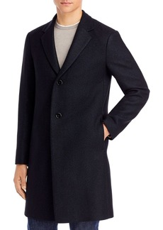 Theory Suffolk B Donegal Fleck Melton Topcoat - 100% Exclusive