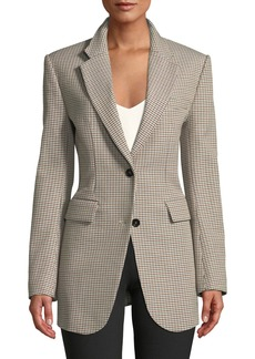 8786f1fdd772 Theory Theory Women's Tarlan.Admiral Jacket Crepe.Black | Outerwear