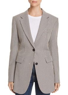Theory Super Cinch Houndstooth Blazer