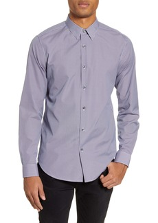 Theory Sylvain Hale Slim Fit Button-Up Shirt