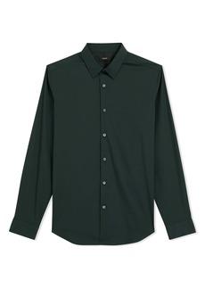 Theory Sylvain Slim Fit Button-Up Dress Shirt