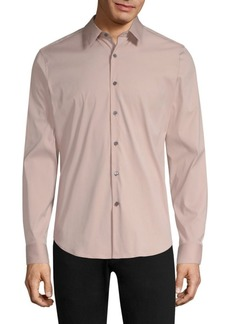 Theory Sylvain Stretch Cotton Casual Shirt