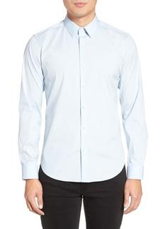 Theory Sylvain Slim Fit Long Sleeve Sport Shirt
