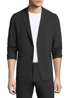 Theory Tailored Semi-Tech Wool Blazer