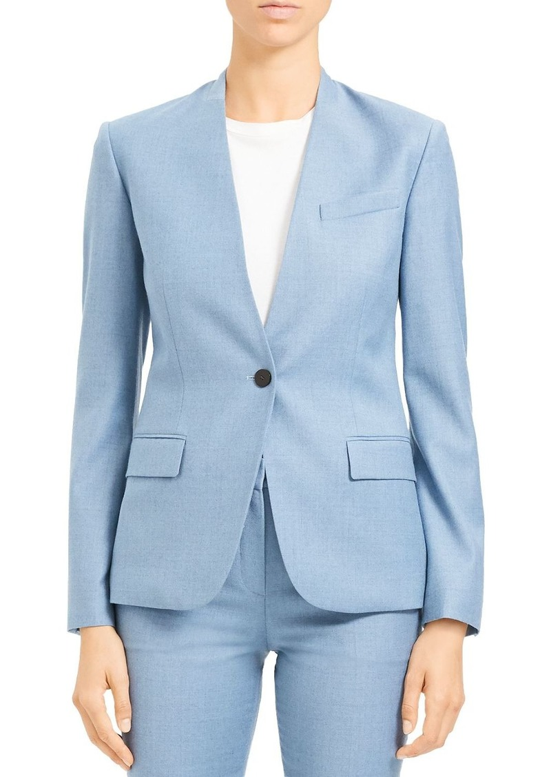 Theory Tailored Wool Blazer