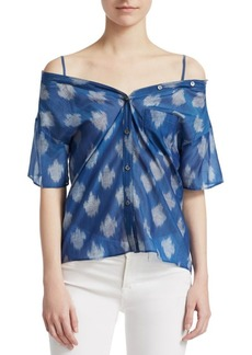 Theory Tamalee Ikat Top