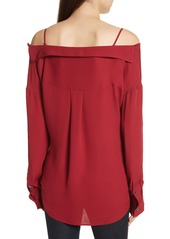 Theory Tamalee Silk Shirt